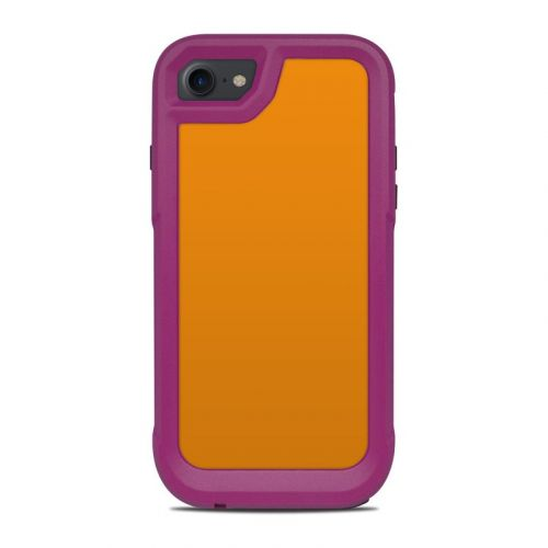 Solid State Orange OtterBox Pursuit iPhone 8 Case Skin