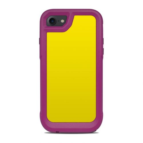 Solid State Yellow OtterBox Pursuit iPhone 8 Case Skin