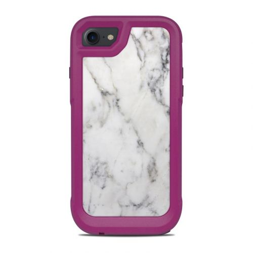 White Marble OtterBox Pursuit iPhone 8 Case Skin