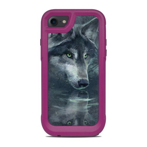 Wolf Reflection OtterBox Pursuit iPhone 8 Case Skin