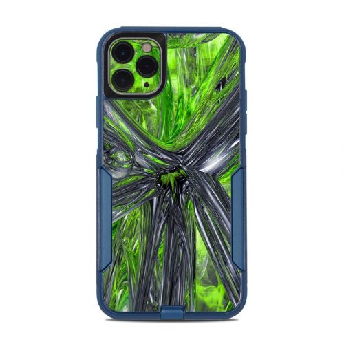 Emerald Abstract OtterBox Commuter iPhone 11 Pro Max Case Skin