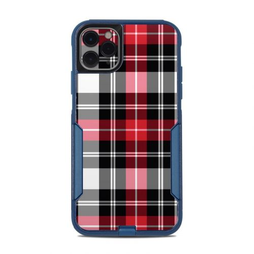 Red Plaid OtterBox Commuter iPhone 11 Pro Max Case Skin