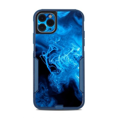 Blue Quantum Waves OtterBox Commuter iPhone 11 Pro Max Case Skin