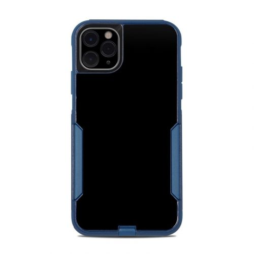 Solid State Black OtterBox Commuter iPhone 11 Pro Max Case Skin
