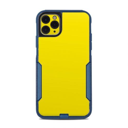 Solid State Yellow OtterBox Commuter iPhone 11 Pro Max Case Skin