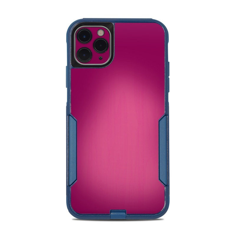 OtterBox Commuter iPhone 11 Pro Max Case Skin design of Pink, Violet, Red, Purple, Magenta, Lilac, Material property, Pattern with red, purple colors