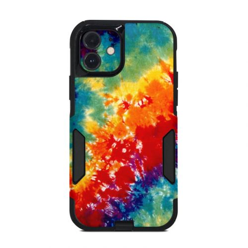 Tie Dyed OtterBox Commuter iPhone 12 Case Skin