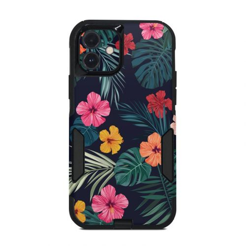 Tropical Hibiscus OtterBox Commuter iPhone 12 Case Skin
