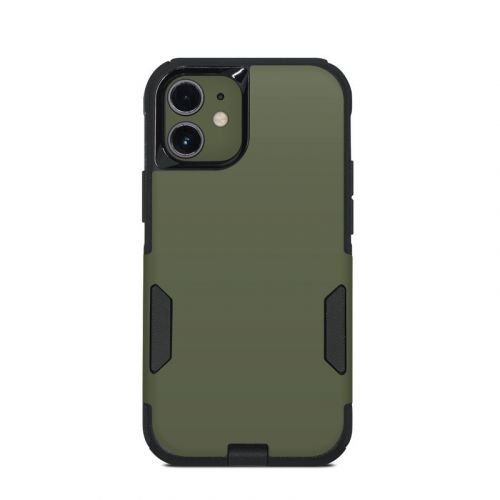 Solid State Olive Drab OtterBox Commuter iPhone 12 mini Case Skin