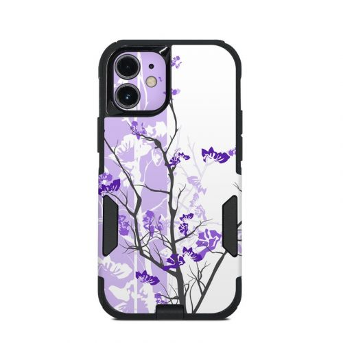Violet Tranquility OtterBox Commuter iPhone 12 mini Case Skin