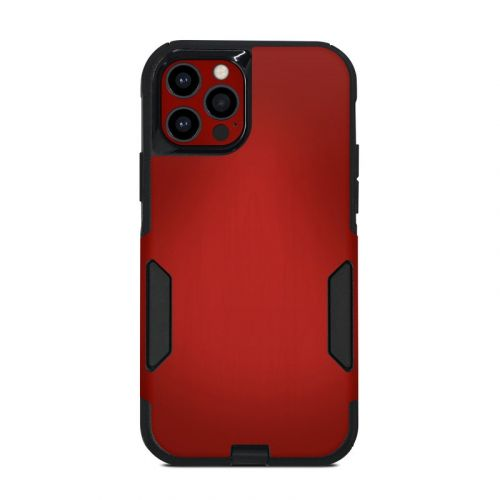 Red Burst OtterBox Commuter iPhone 12 Pro Case Skin