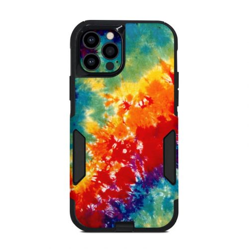 Tie Dyed OtterBox Commuter iPhone 12 Pro Case Skin