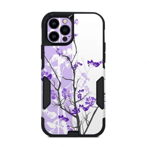 Violet Tranquility OtterBox Commuter iPhone 12 Pro Case Skin