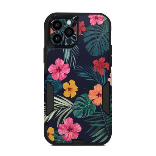Tropical Hibiscus OtterBox Commuter iPhone 12 Pro Case Skin