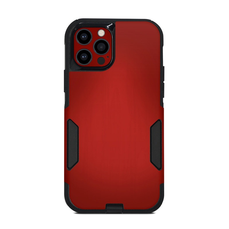 OtterBox Commuter iPhone 12 Pro Case Skin design of Red, Maroon, Orange, Brown, Peach, Pattern, Magenta with red colors