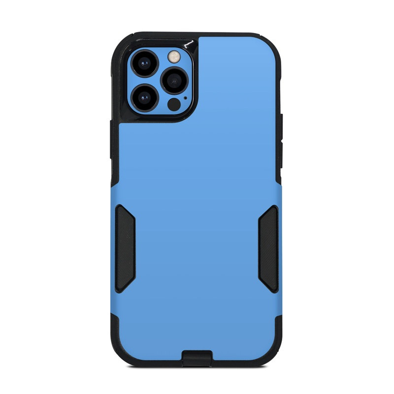 OtterBox Commuter iPhone 12 Pro Case Skin design of Sky, Blue, Daytime, Aqua, Cobalt blue, Atmosphere, Azure, Turquoise, Electric blue, Calm with blue colors