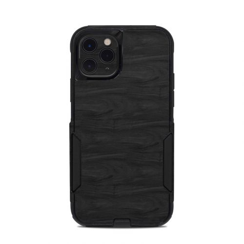 Black Woodgrain OtterBox Commuter iPhone 11 Pro Case Skin