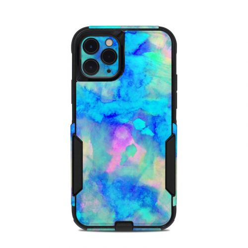 Electrify Ice Blue OtterBox Commuter iPhone 11 Pro Case Skin