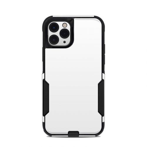 Solid State White OtterBox Commuter iPhone 11 Pro Case Skin