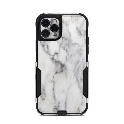 White Marble OtterBox Commuter iPhone 11 Pro Case Skin