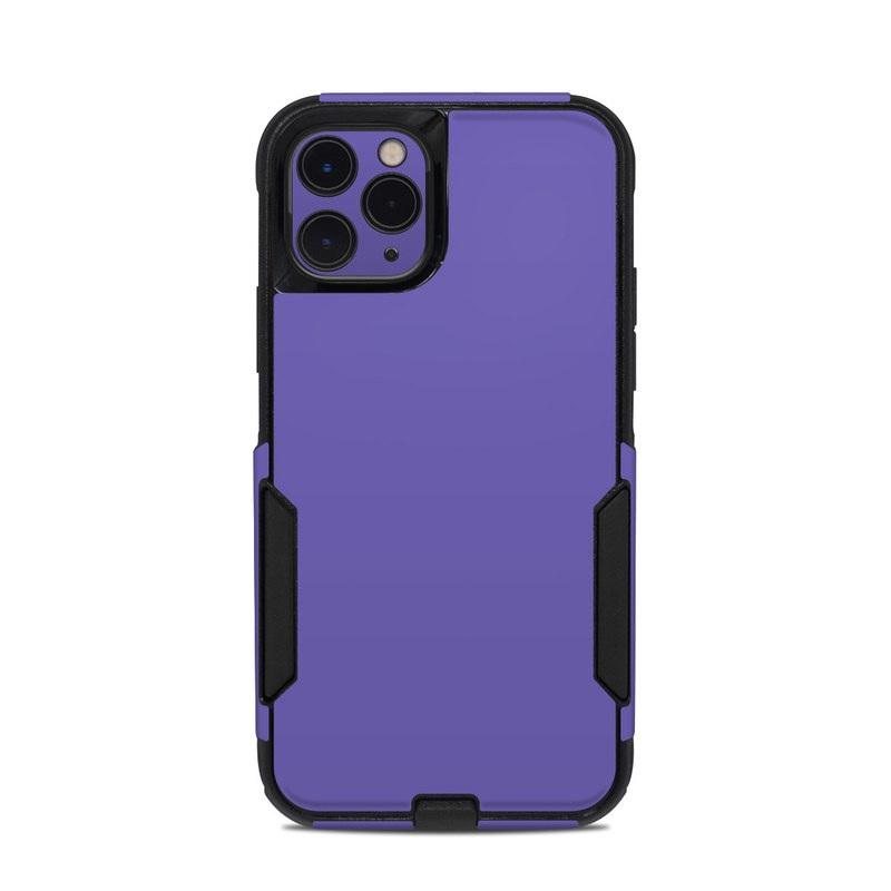 OtterBox Commuter iPhone 11 Pro Case Skin design of Blue, Violet, Sky, Purple, Daytime, Black, Lilac, Cobalt blue, Pink, Azure with purple colors