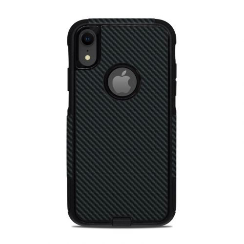 Carbon OtterBox Commuter iPhone XR Case Skin