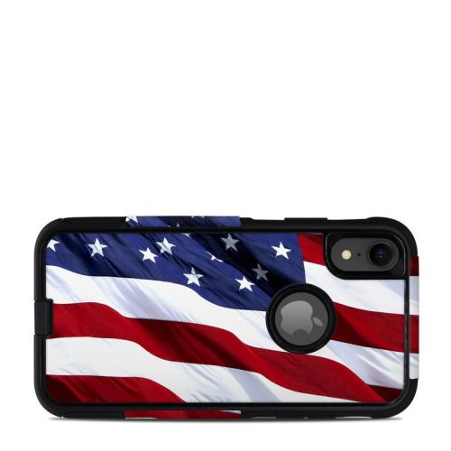 Patriotic OtterBox Commuter iPhone XR Case Skin