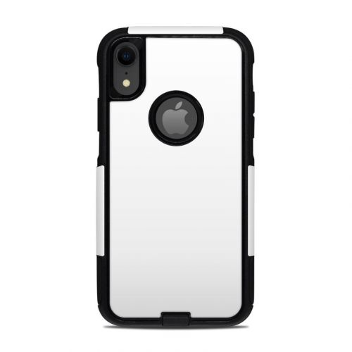 Solid State White OtterBox Commuter iPhone XR Case Skin