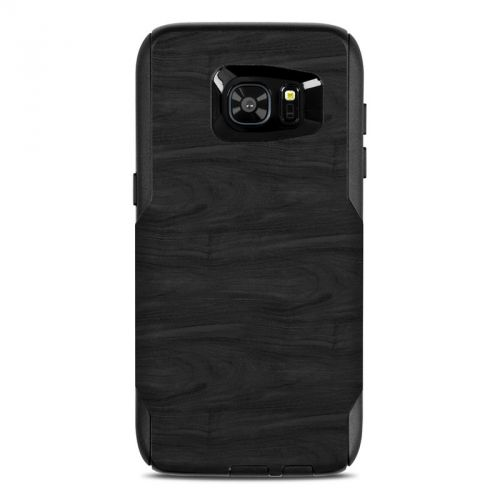 Black Woodgrain OtterBox Commuter Galaxy S7 Edge Case Skin