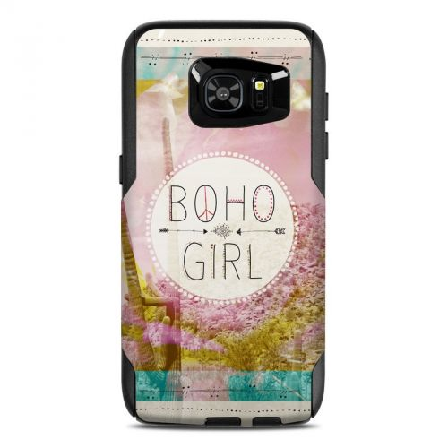 Boho Girl OtterBox Commuter Galaxy S7 Edge Skin