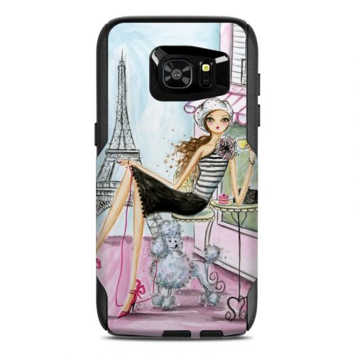 Cafe Paris OtterBox Commuter Galaxy S7 Edge Skin