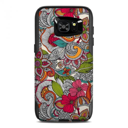Doodles Color OtterBox Commuter Galaxy S7 Edge Skin