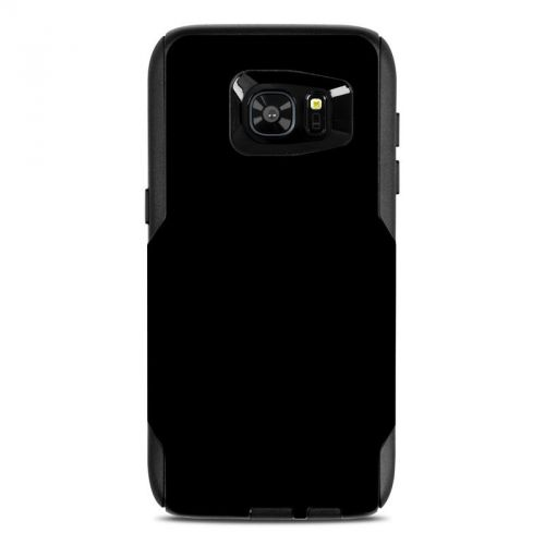 Solid State Black OtterBox Commuter Galaxy S7 Edge Case Skin