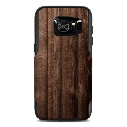 Stained Wood OtterBox Commuter Galaxy S7 Edge Skin