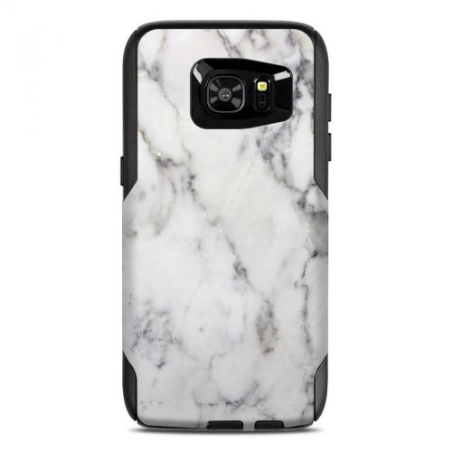White Marble OtterBox Commuter Galaxy S7 Edge Case Skin