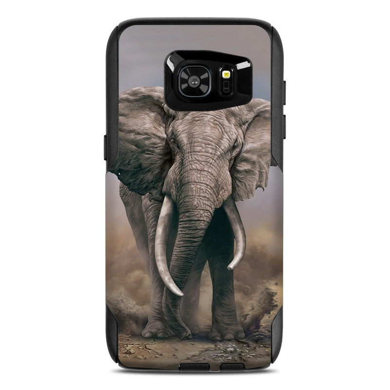 African Elephant OtterBox Commuter Galaxy S7 Edge Case Skin