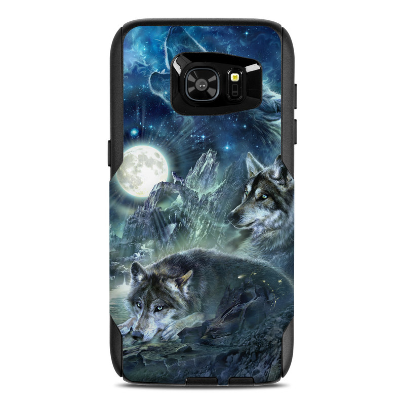 Bark At The Moon OtterBox Commuter Galaxy S7 Edge Skin