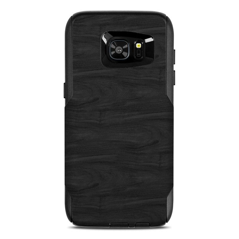 Black Woodgrain OtterBox Commuter Galaxy S7 Edge Skin