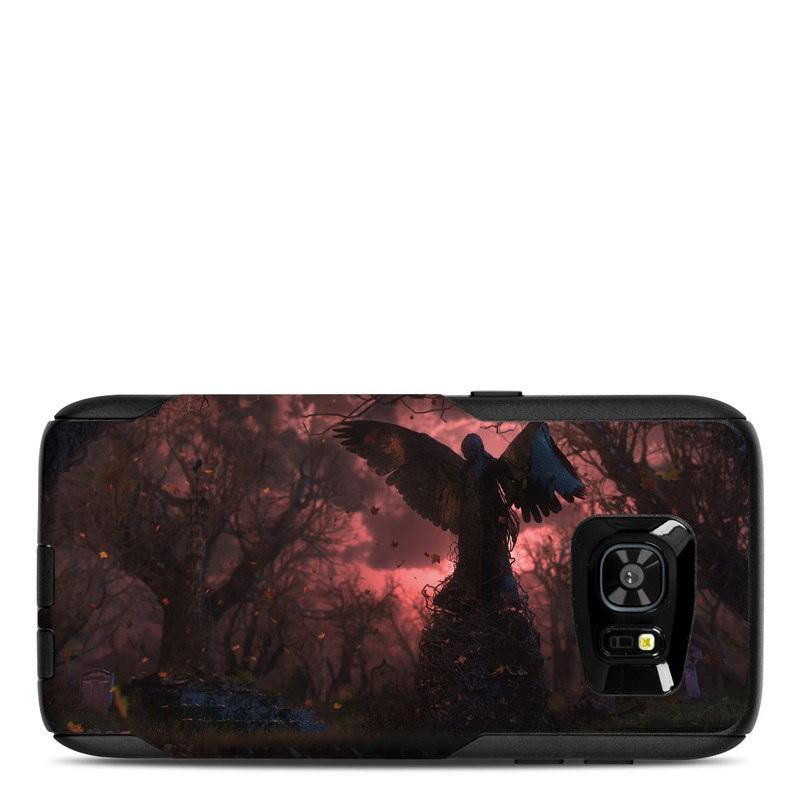 Black Angel OtterBox Commuter Galaxy S7 Edge Case Skin