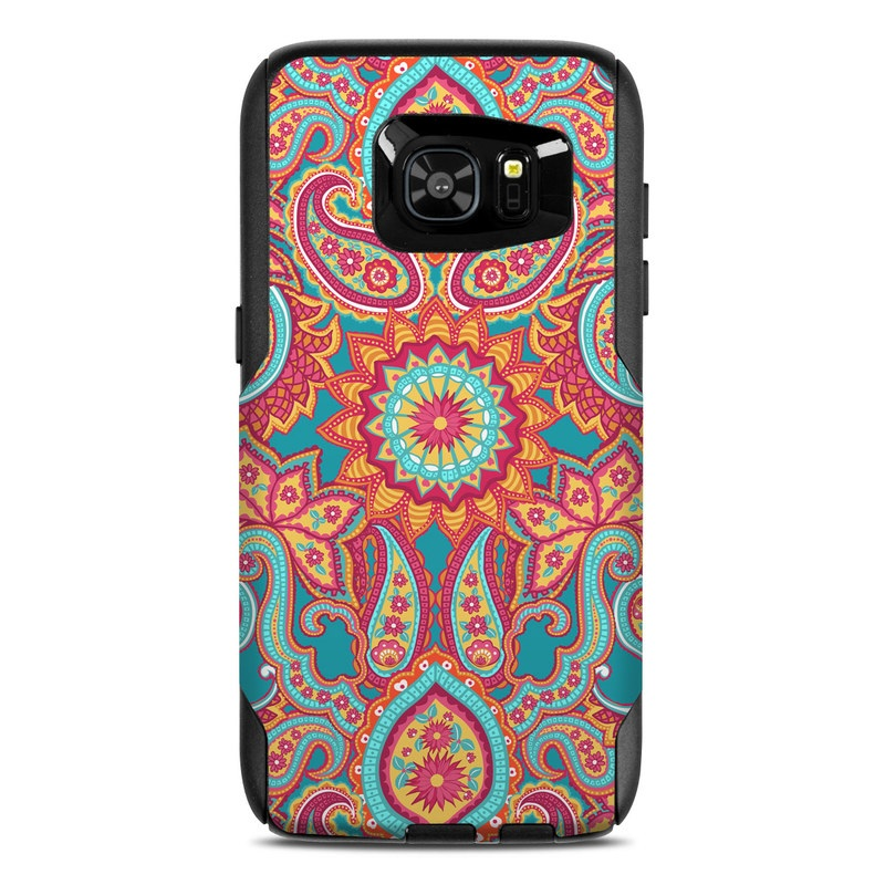 Carnival Paisley OtterBox Commuter Galaxy S7 Edge Skin
