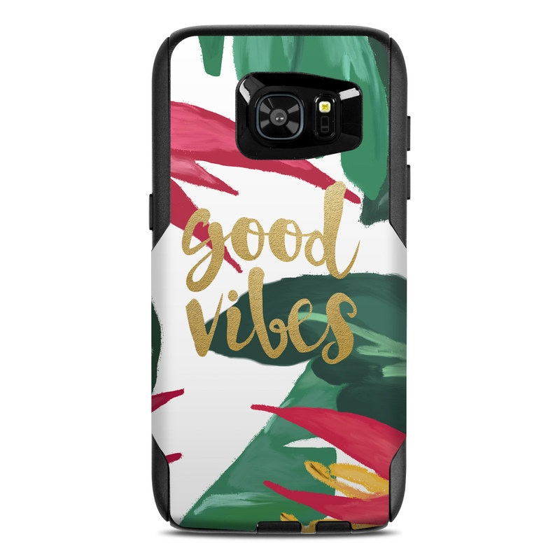 Good Vibes OtterBox Commuter Galaxy S7 Edge Case Skin
