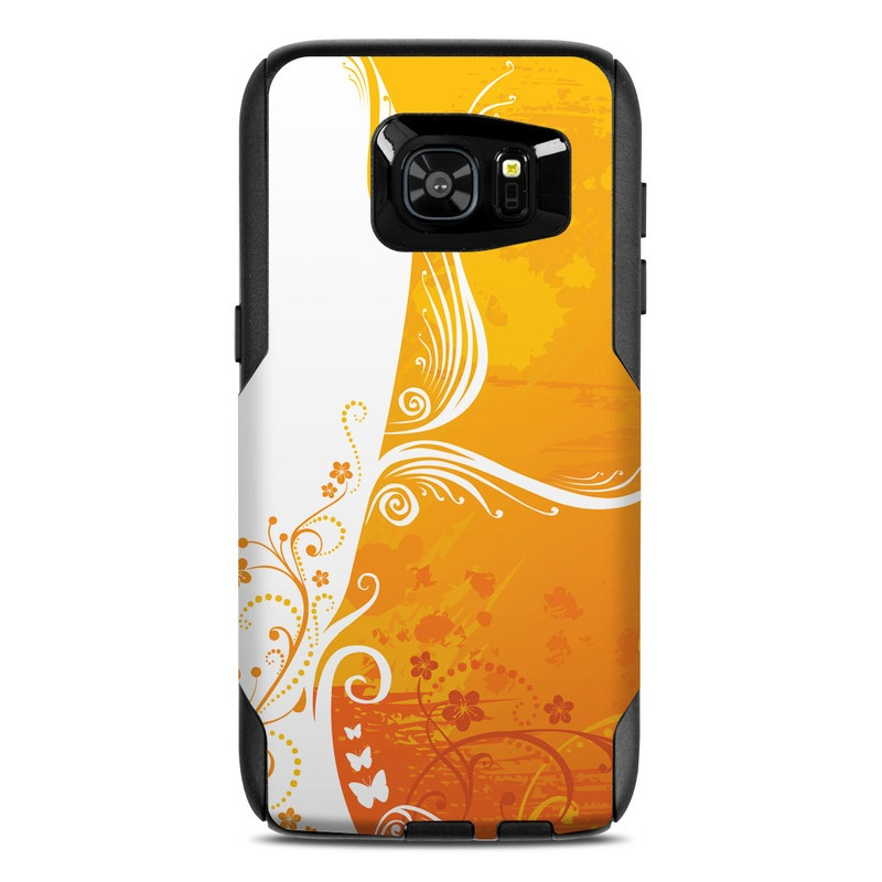 Orange Crush OtterBox Commuter Galaxy S7 Edge Skin