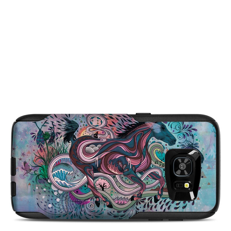 Poetry in Motion OtterBox Commuter Galaxy S7 Edge Case Skin