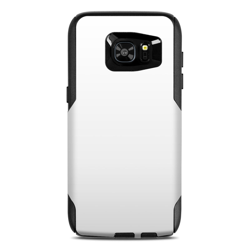 OtterBox Commuter Galaxy S7 Edge Case Skin design of White, Black, Line with white colors