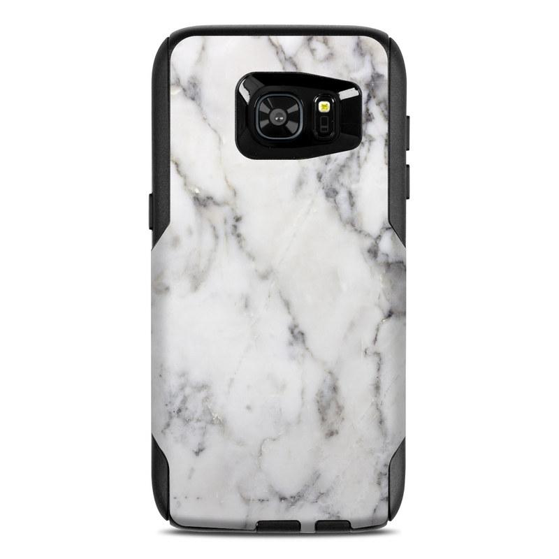 White Marble OtterBox Commuter Galaxy S7 Edge Case Skin