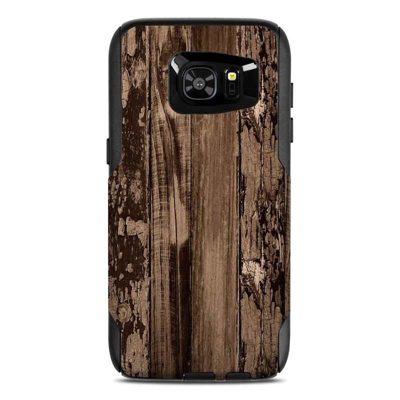 Weathered Wood OtterBox Commuter Galaxy S7 Edge Case Skin
