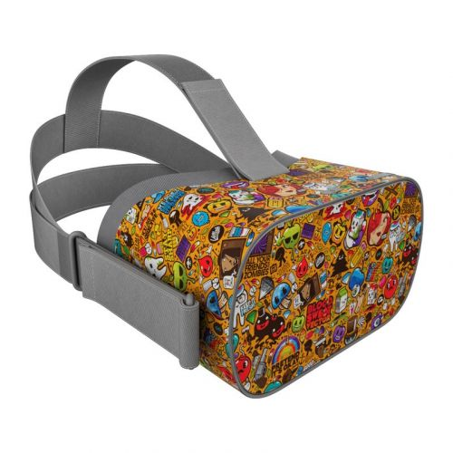 Psychedelic Oculus Go Skin