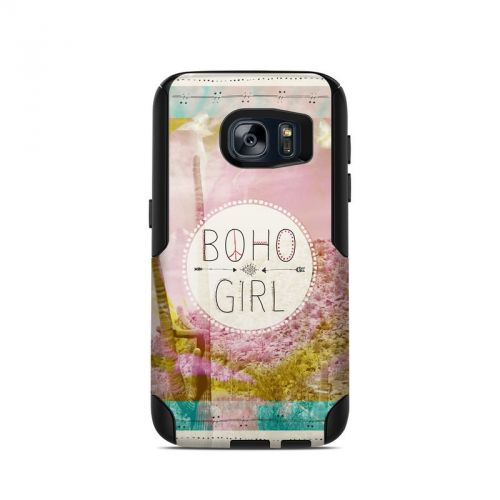 Boho Girl OtterBox Commuter Galaxy S7 Skin