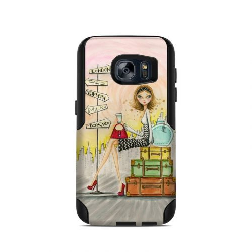 The Jet Setter OtterBox Commuter Galaxy S7 Skin