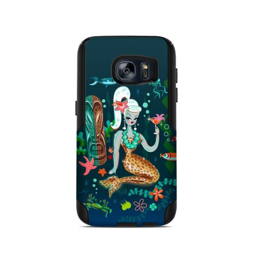 Martini Mermaid OtterBox Commuter Galaxy S7 Case Skin